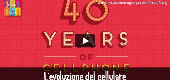 Un video racconta i 40 anni del telefono cellulare