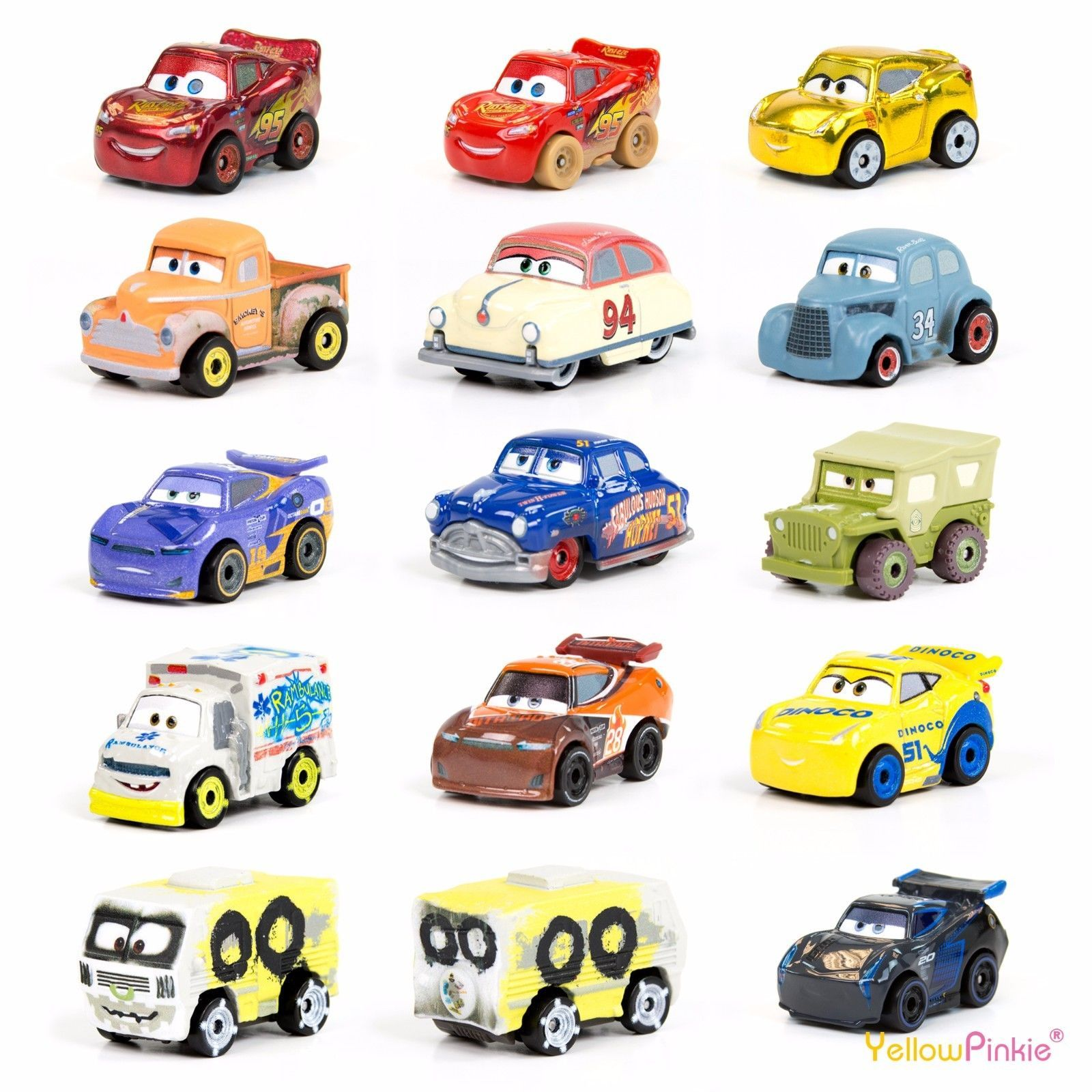 1 99 Gbp Disney Pixar Cars 3 Mini Racers Characters Choose Your