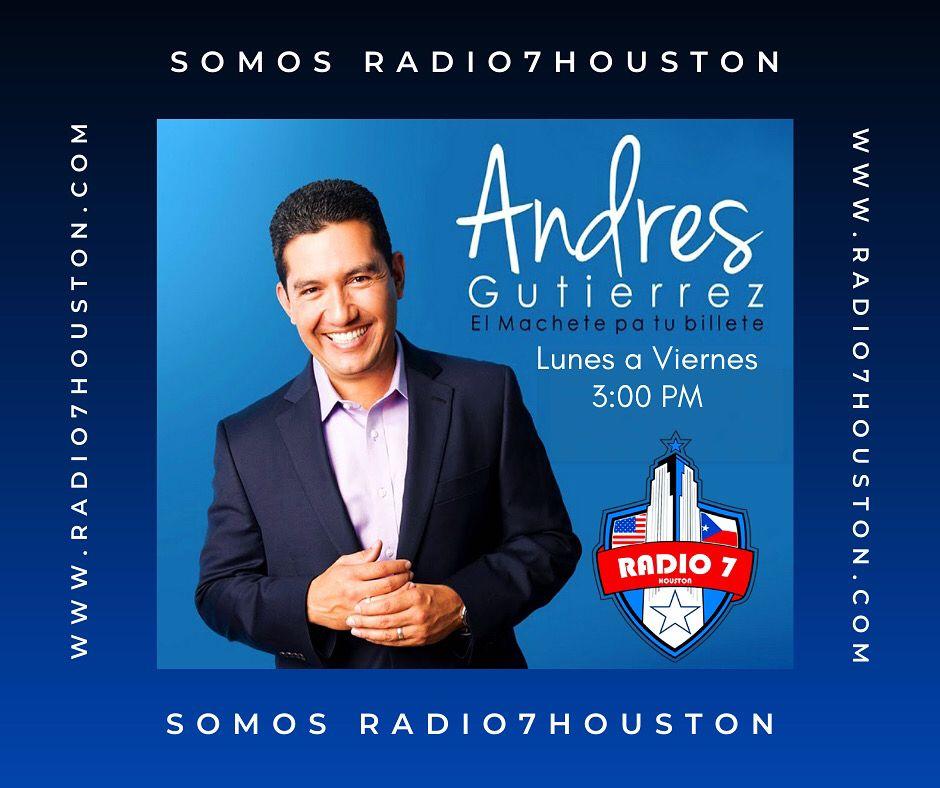 Somos Radio7Houston www.radio7houston.com #finanzas #elshowdeandresgutierrez #ahorros #libertadfinanciera #november #thesoaringsongbird #autummfall2020 #musicaenvivo #RadioEnVivo #houstontx #houston #texas #usa #chicago #elsaminamusic #Radio7Houston #musicaenespañol #radioonline #tunein #mexico #EEUU #elfilosofoderadio7houston #maynoralvarez #election2020