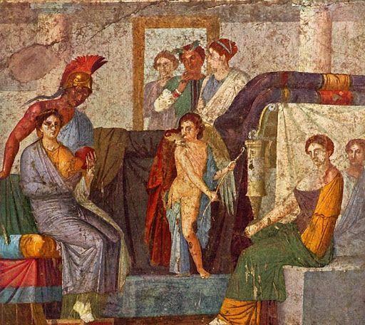 RZYM: Freski z domu Wettiuszów w Pompejach