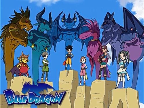 Images Blue Dragon Anime Shadows