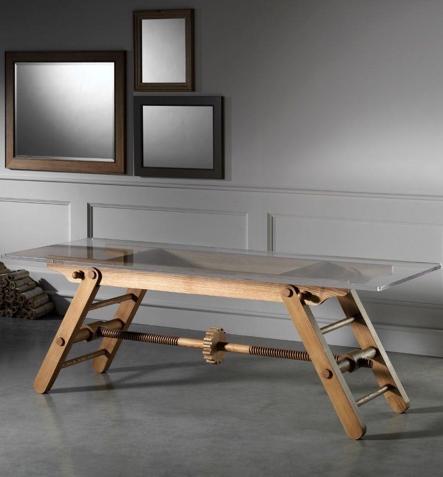 i nuovi tavoli in legno l ottocento versatilit e fascino