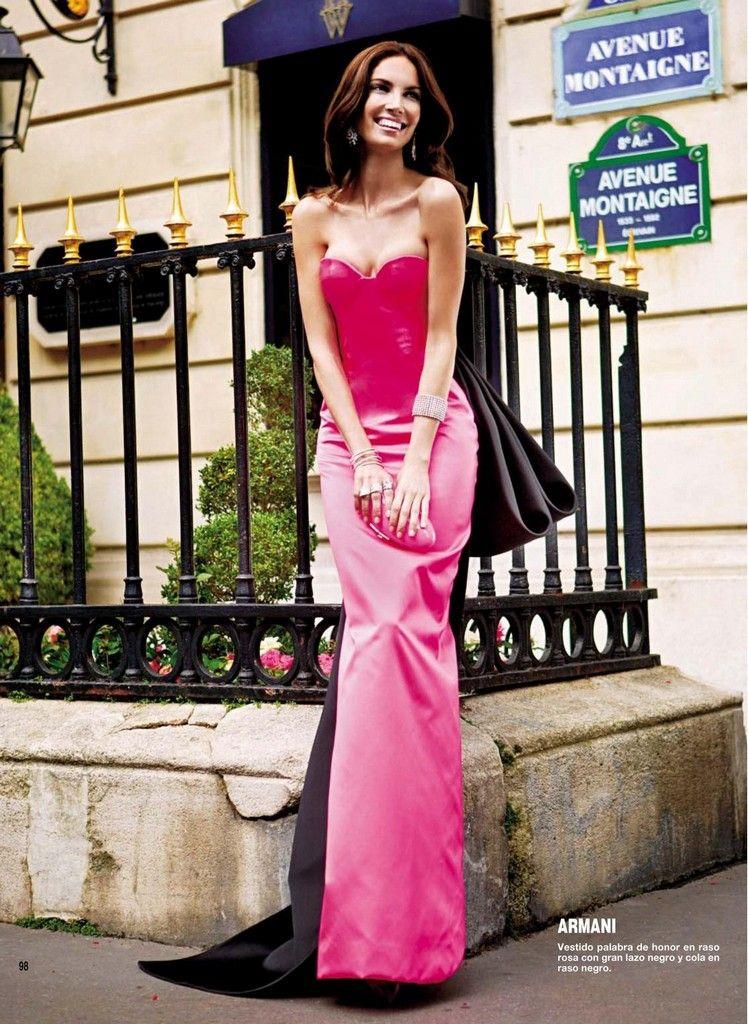 Eugenia Silva for Armani   eusilva   Pinterest   Vestidos de noche ...