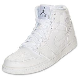 ADIDASI ORIGINALI NIKE AIR JORDAN 1 MID (GS) 554725 109 in