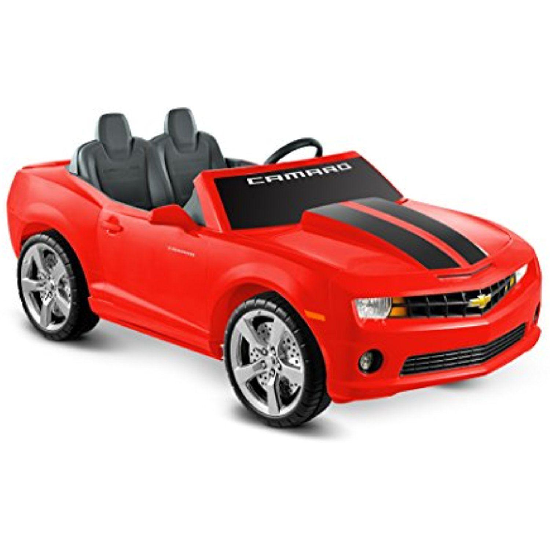 Kid Motorz Cheverolet Racing Camaro 2 Seater, Red