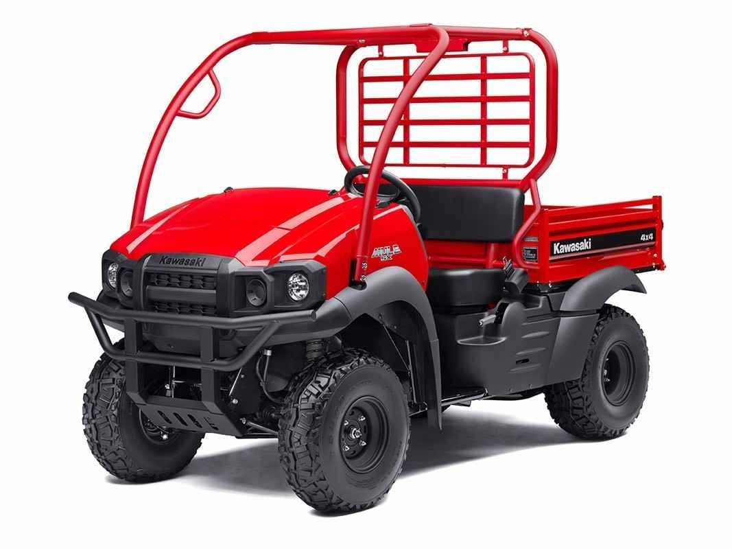 New 2017 Kawasaki Mule SX 4x4 SE ATVs For Sale in Florida. 2017 MULE SX 4X4 SE SIDE X SIDE HAS A RUGGED NEW APPEARANCE AND ENHANCED COMFORT AND VERSATILITY. THIS DURABLE WORKHORSE COMES EQUIPPED WITH A TRAILER HITCH DRAWBAR, SUNBEAM RED BODY COLOR AND CAN EASILY FIT IN THE BED OF A FULL-SIZE PICKUP TRUCK.401 cc air-cooled, 4-stroke; selectable 2WD / 4WDSteel cargo bed with textured floor is durable and scratch resistantUp to 1,100 lbs. of towing capacity and 400 lb. cargo bed capacityKQR…
