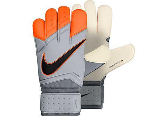 Nike Vapor Grip 3 Goalkeeper Gloves - White and Orange
