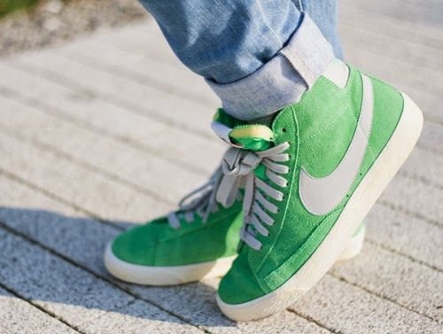 nike green sneakers, ténis verdes nike