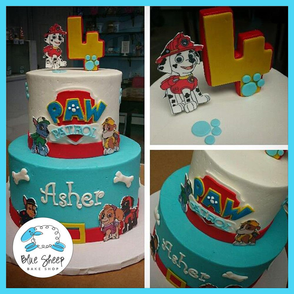 paw patrol birthday cake fiestas infantiles pinterest geburtstage kuchen und deko. Black Bedroom Furniture Sets. Home Design Ideas