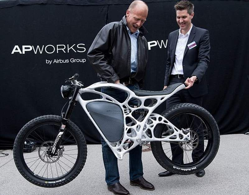 Airbus Unveils 3d Printed Electric Motorcycle Wordlesstech Electric Motorcycle Electric Motorbike Eletric Bike