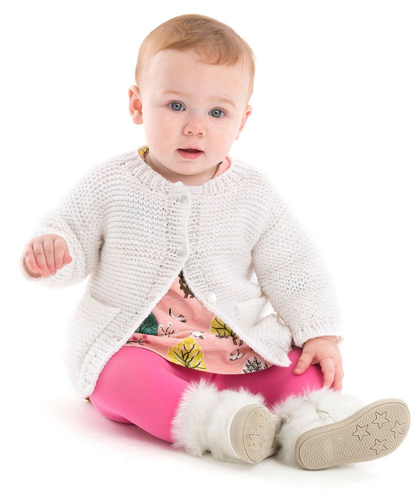 Year round baby cardigan free knitting pattern knitting patterns year round baby cardigan free knitting pattern bankloansurffo Gallery