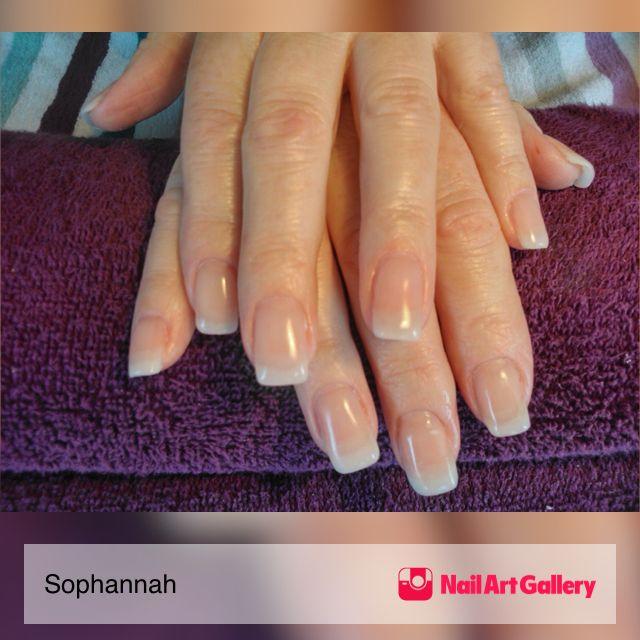 Natural Gel Nail Enhancements By Sophannah Via Art Gallery Nailartgallery Nailart Nails Geloverlay Gelnails Naturallook Extensions