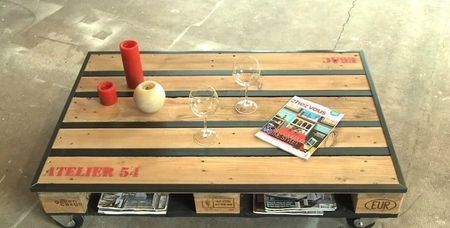 cours de bricolage chez l etablisienne atelier palettes. Black Bedroom Furniture Sets. Home Design Ideas