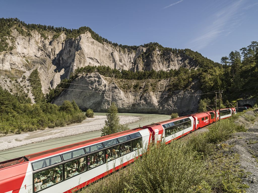 The Glacier Express Is Probably The Word S Most Famous Panorama