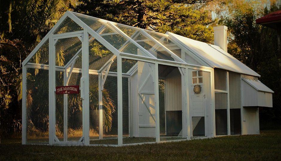 The Mansion™ Coop | Chickens backyard, Chicken coop ...