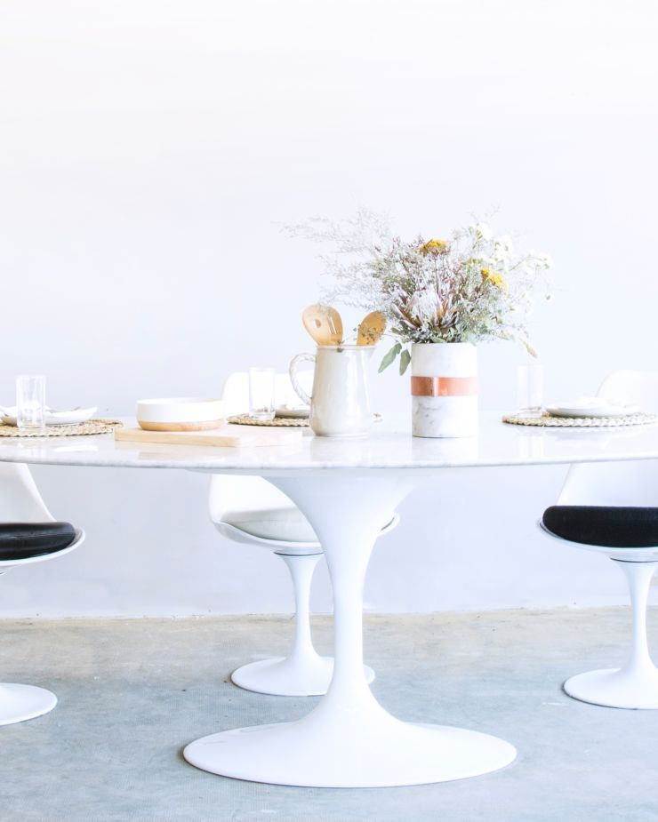 Mid Century Modern Dining Tables Rove Concepts - Rove concepts tulip table