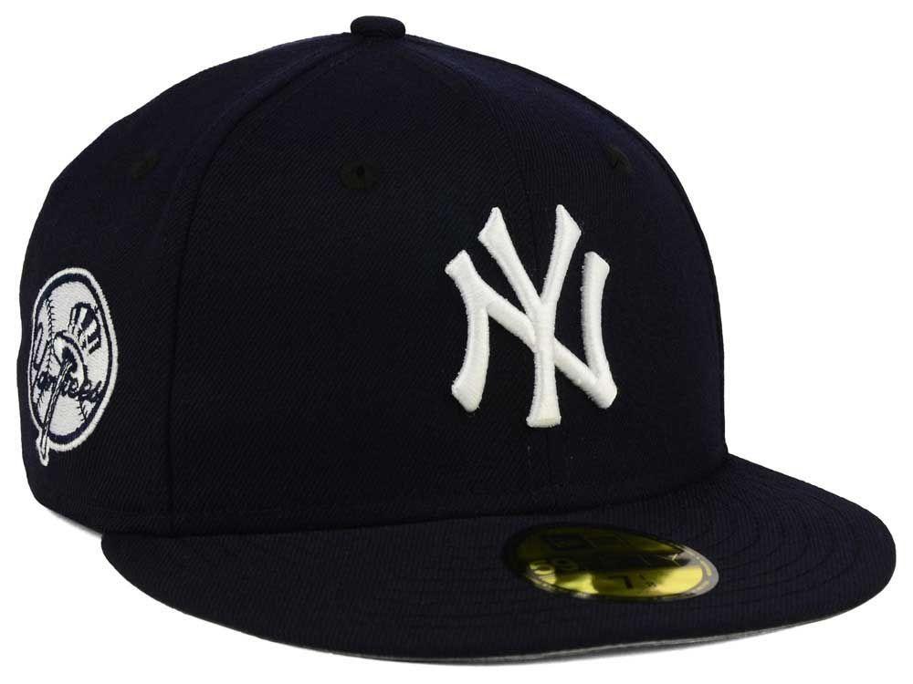 new product bcddc f19f2 New York Yankees New Era MLB C-Dub Patch 59FIFTY Cap