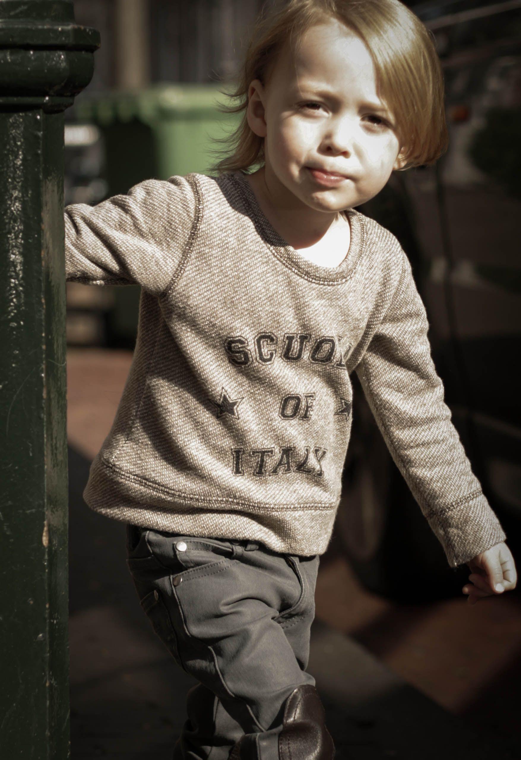 Zef Sweater Scuola & Jeans Dean Louis Louise www.born2bseen.com