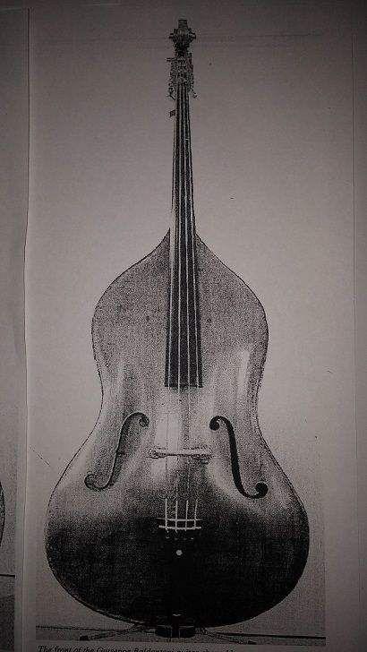 """Bob Gladstone's """"pear bass."""""""