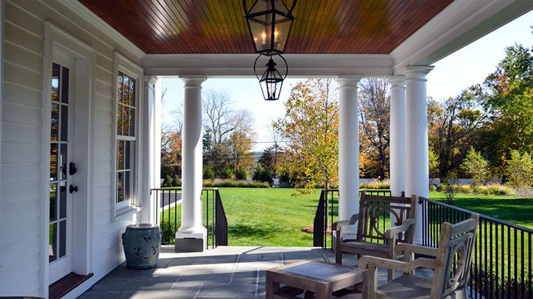 Tour a Graceful Colonial Revival Home with a Classic New England Feel