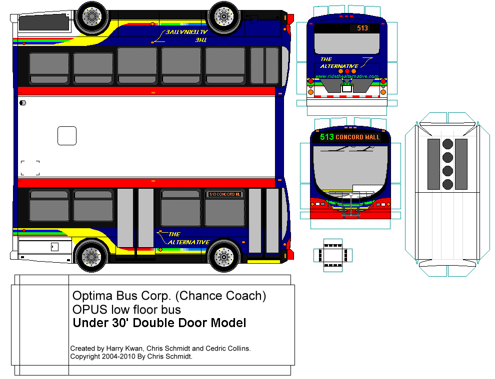 Blank Netsmy Paperbuses