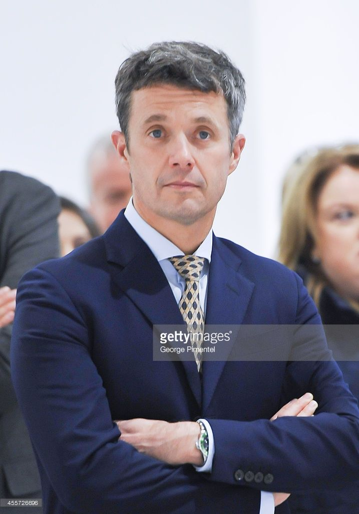 Crown Prince Frederik of Denmark attends official visit to Canada - Day 3 at The Hudson's Bay on September 19, 2014 in Toronto, Canada.