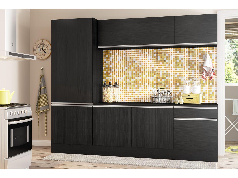 Cozinha Compacta Multim Veis L Nea 5224 130 130 130 Com Balc O 8