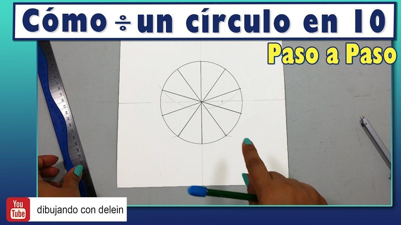 Como Dividir Un Circulo En 10 Partes Iguales Tecnica Ideal Para Disenar Tus Propios Mandalas Mandala Dibujo Art Dibujand Circulo Dividir Disenos De Unas