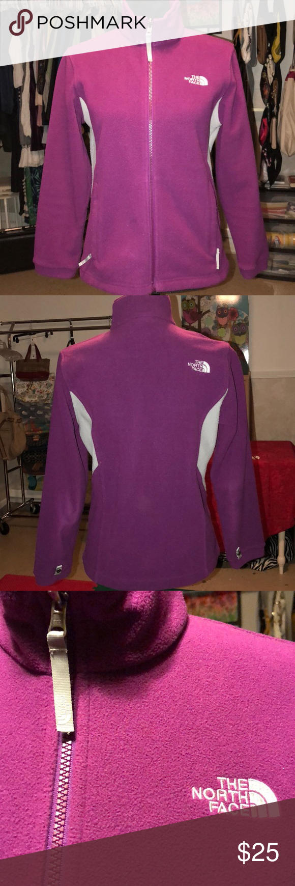 The North Face Fleece Jacket Girls L 14/16 Women S In Good