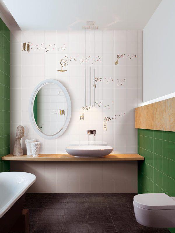 Rivestimento in ceramica SOFFIO - CERAMICA BARDELLI   Bathroom ...