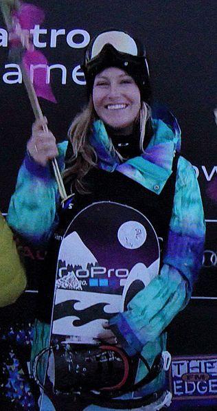 U.S. Snowboarder Jamie Anderson Captures Gold Medal In ...