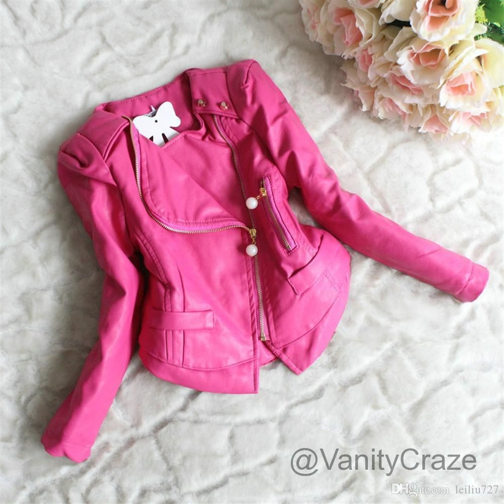 FAUX LEATHER CRUELTY FREE Fashion Leather jacket girl