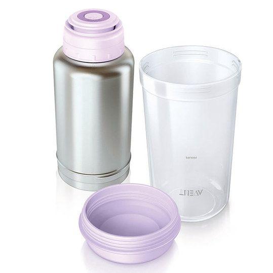 Philips Avent Flaschenwärmer Thermo Babyflasche Baby Ernährung Zubehör Unterwegs