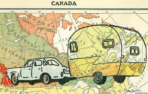 Canadian Road Trip,  by Amy Rice