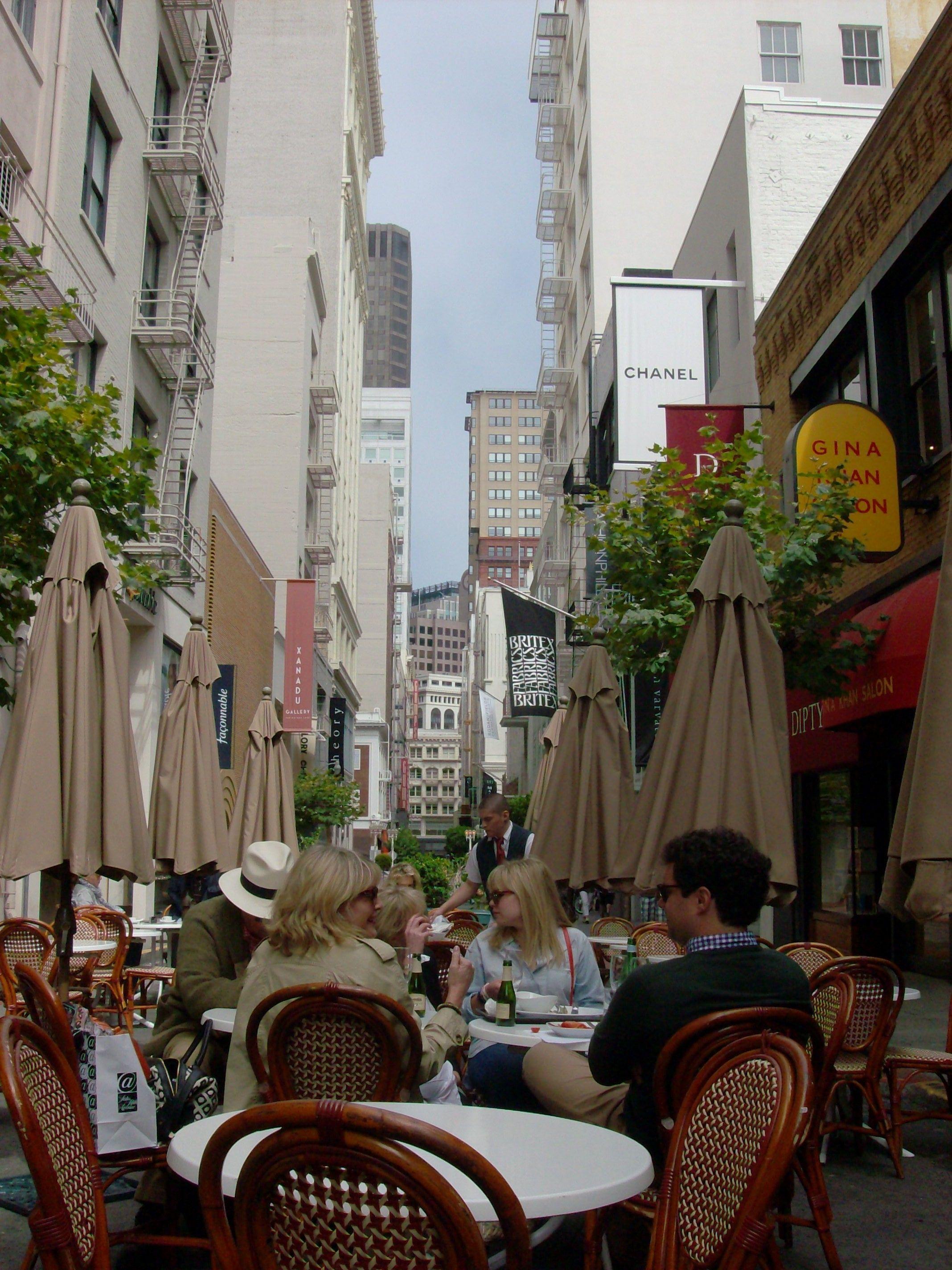 Mocca Caffé in SF Caffe, Views, Restaurant