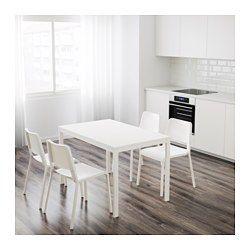 VANGSTA Mesa extensible, blanco - IKEA 100€ | Decoracion comedores ...