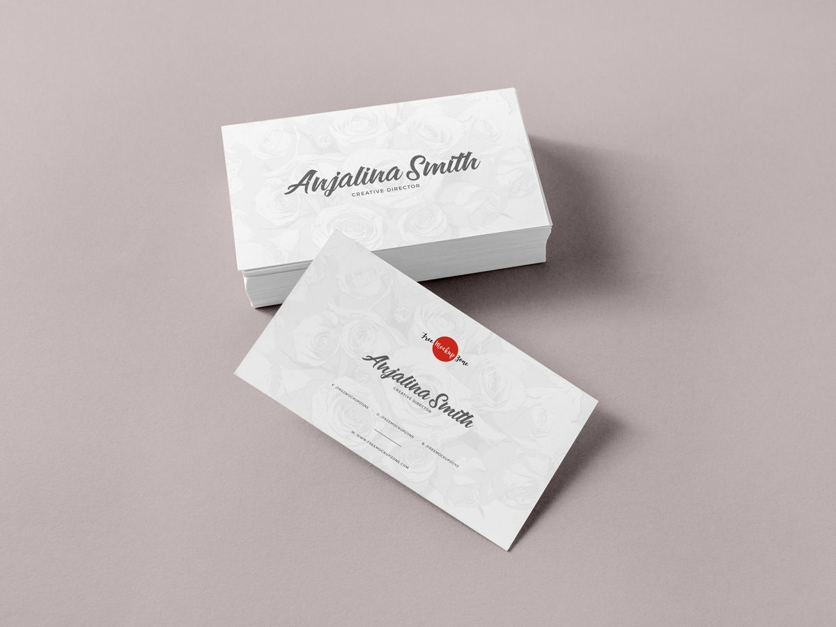 Free Brand Business Cards Mockup Psd For Presentation
