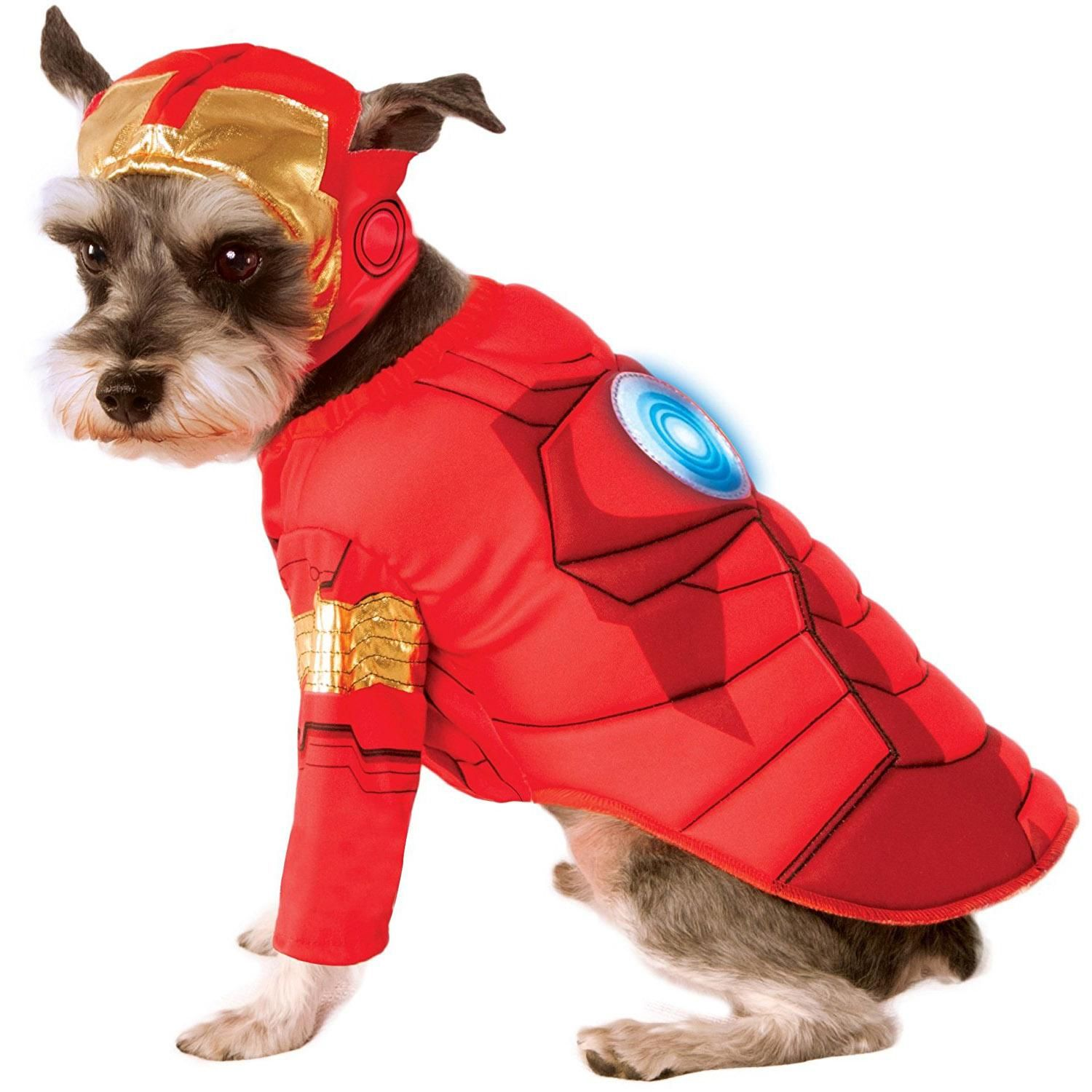 Marvel Deluxe Iron Man Dog Costume Man Dog Pet Costumes Dog