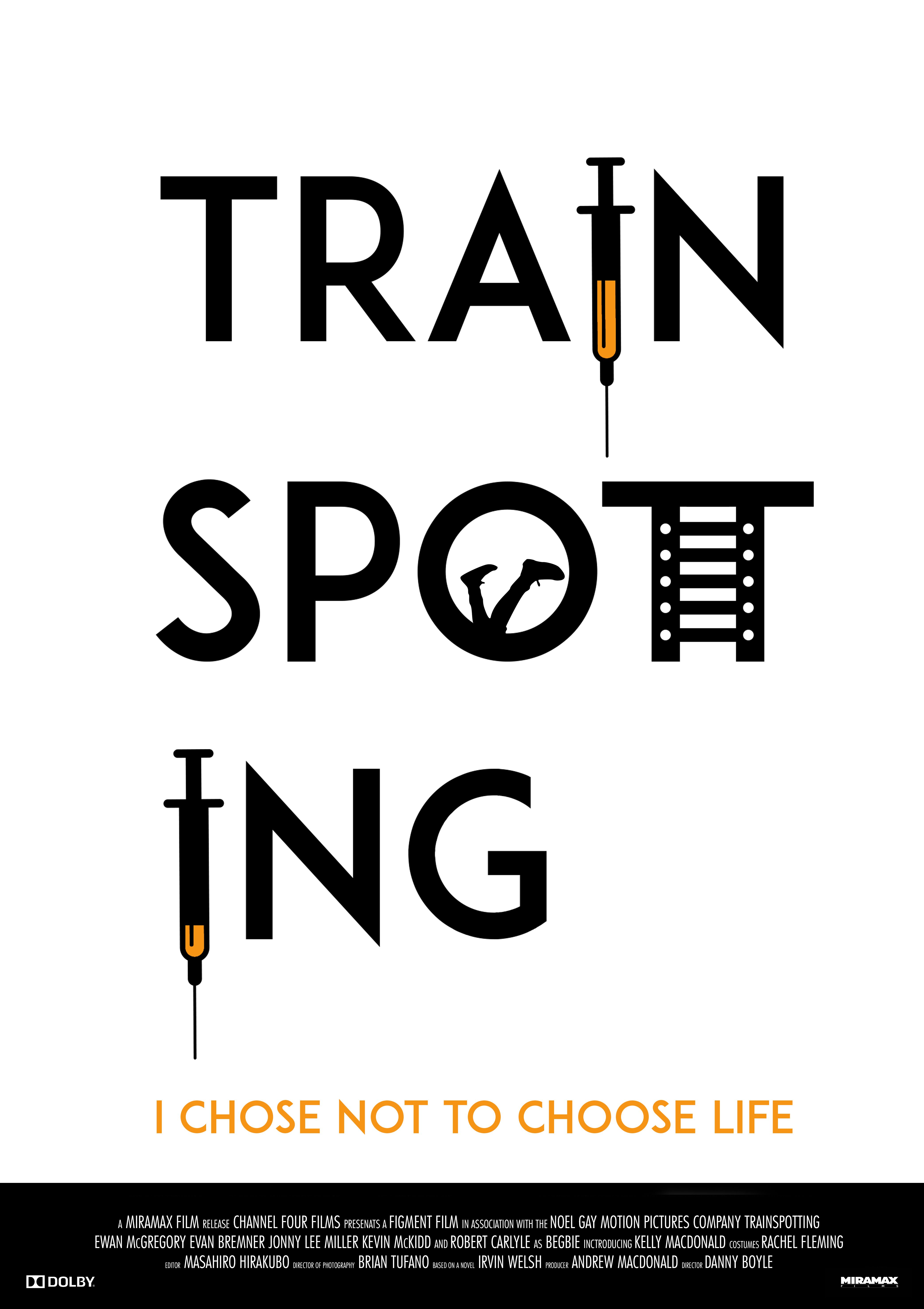 trainspotting poster redesign 2. | all and nothing in 2018 ...