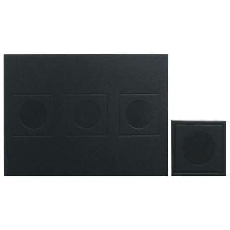 Geo Black Set Of 4 Placemats And Coaster Pack Dunelm Placemats Black Set Coasters
