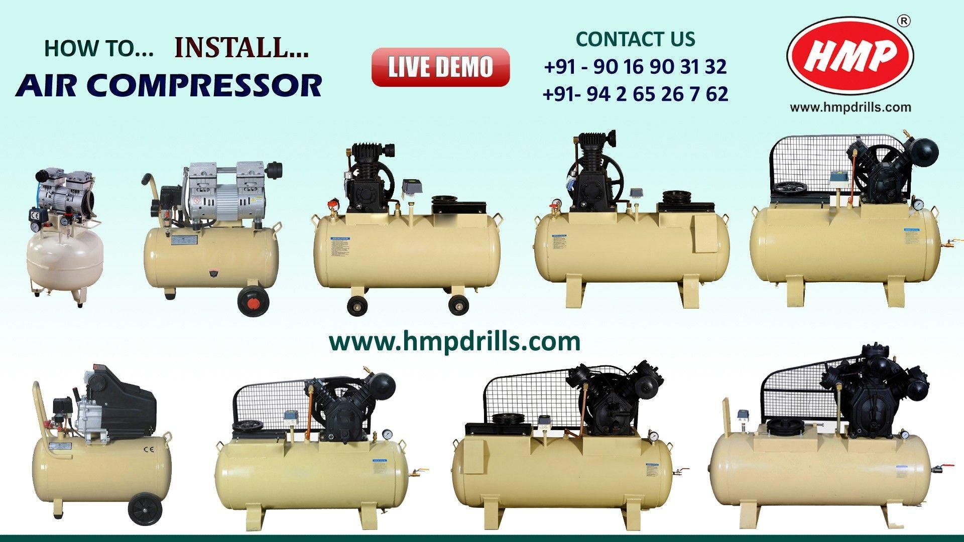 Rajlaxmi Machine Tools offers HMP Make Air Compressor From