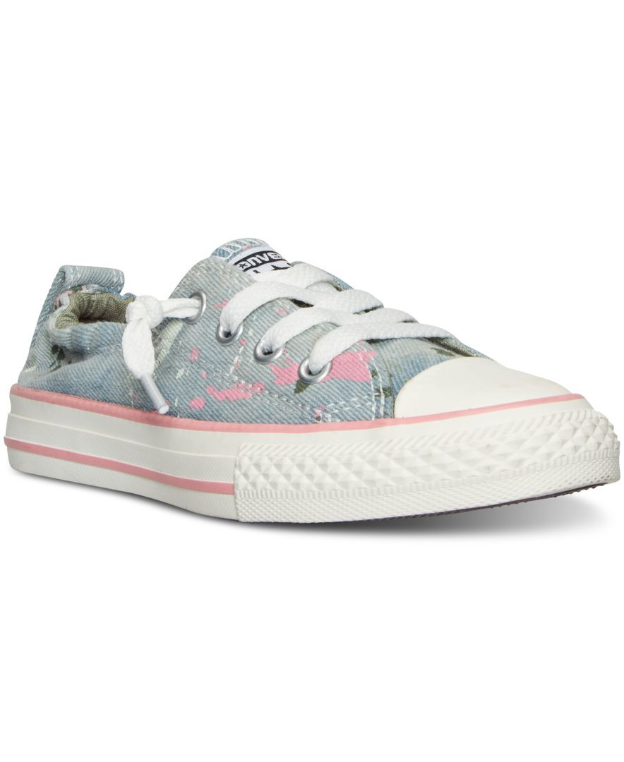 Converse Little Girls  Chuck Taylor Shoreline Casual Sneakers from Finish  Line b02b637e1