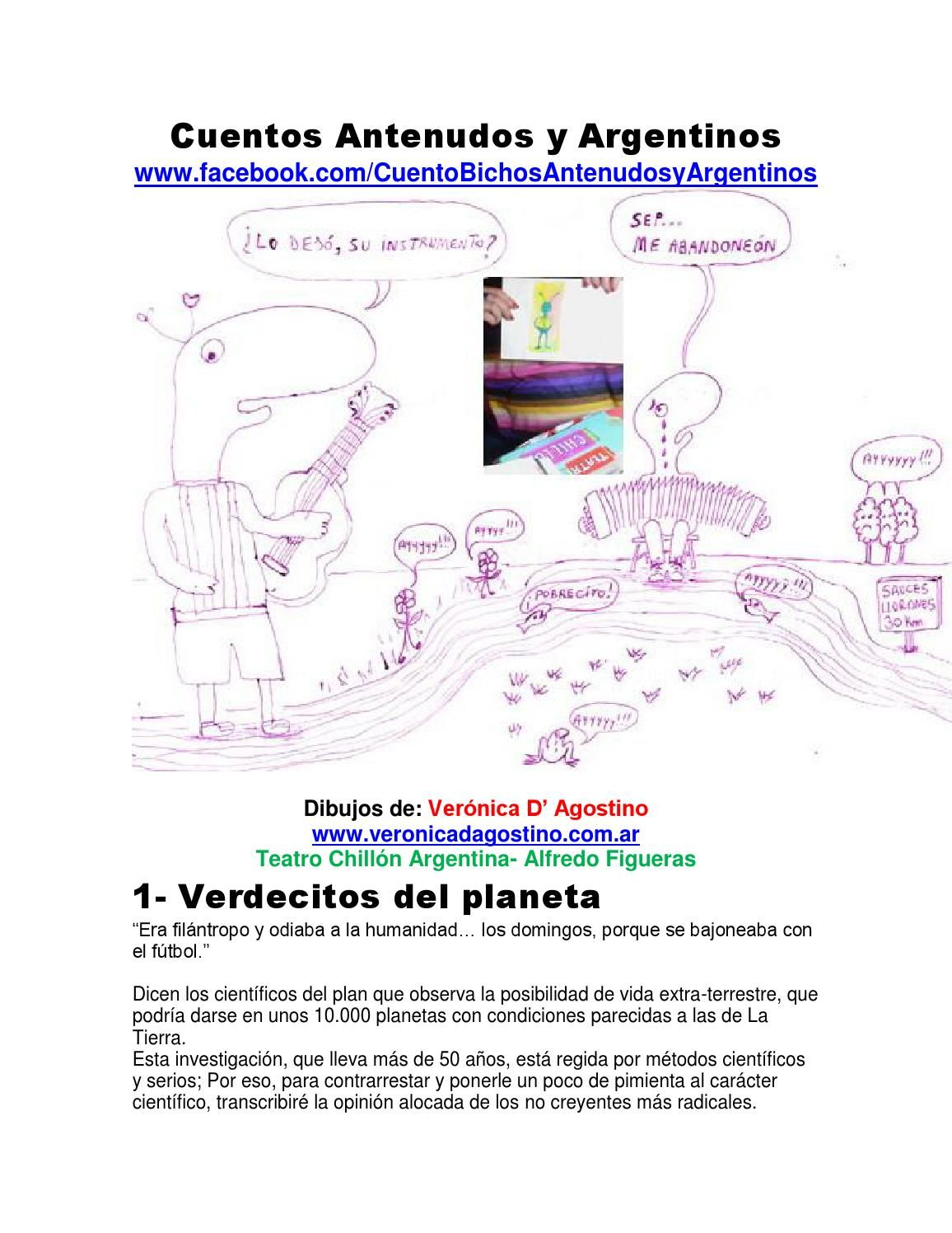 Worksheet. Cuentos argentinos y antenudos  Piano