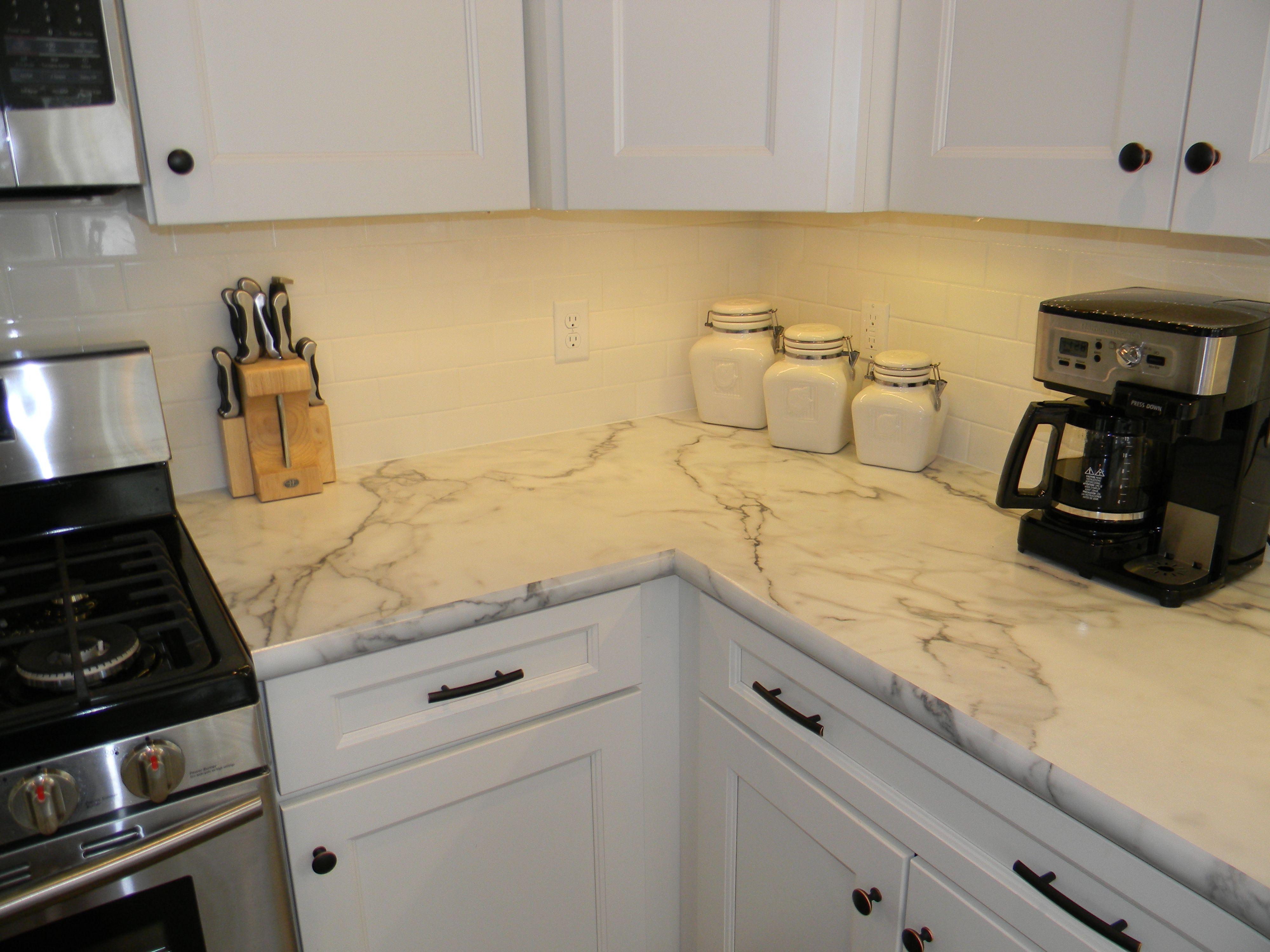 Formica Calcutta Marble 180fx Replacing Kitchen Countertops Kitchen Marble Calcutta Marble