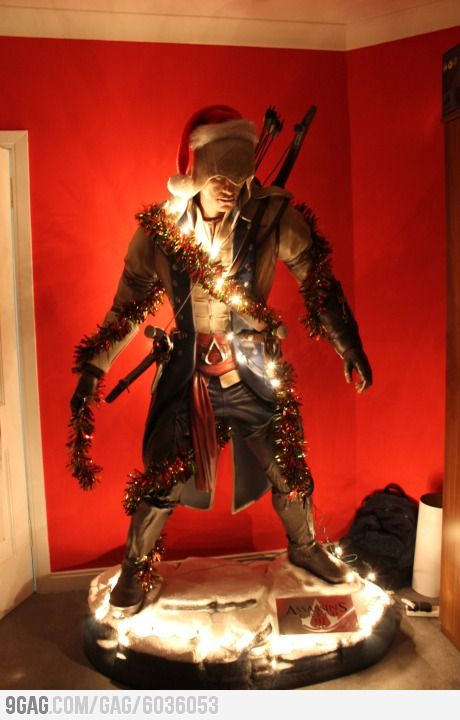Assassin Christmas Tree.