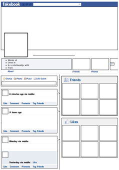 10 Teacher Freebies Including This FREE Fakebook Profile Template