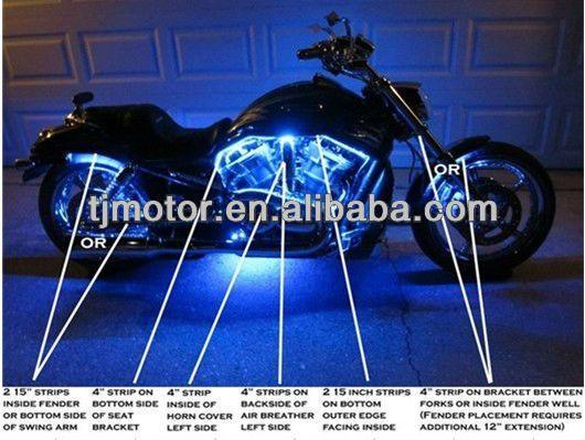 Motorcycle led lighting kitaccent led strip led accent light for motorcycle led lighting kitaccent led strip led accent light for harley davidson aloadofball Choice Image