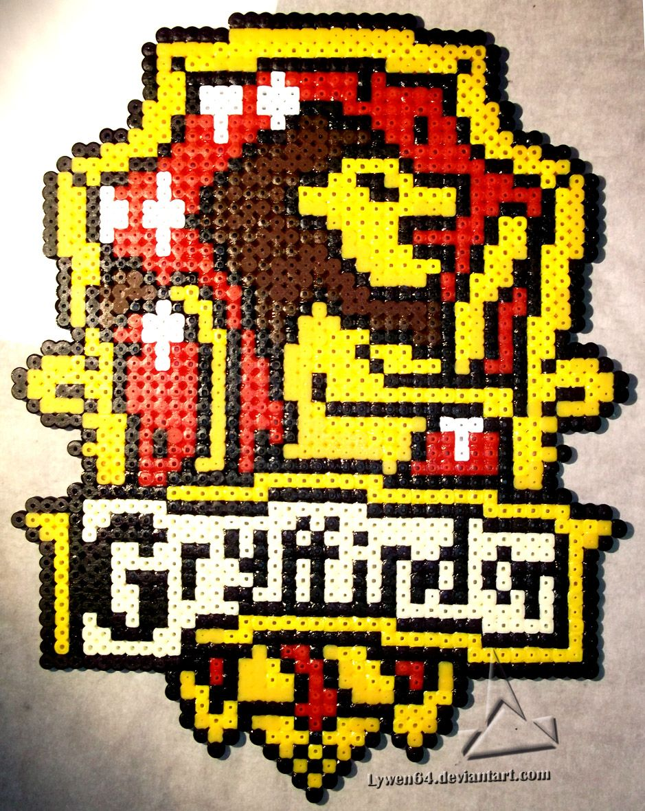 Gryffindor Crest Harry Potter Hama Beads By Lywen64 Rae Rae