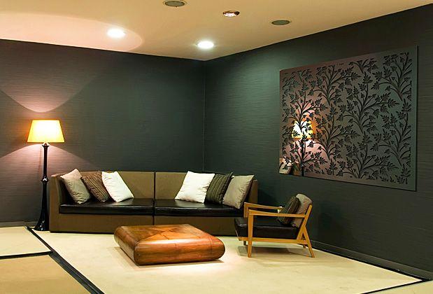medical office decor. Decorative Mirror Screen In Medical Waiting Room. #officedecor Interior #architecture Office Decor E
