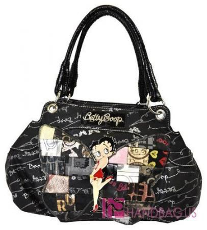 Tote PurseSignature Betty Bag New Boop Butterfly vwnNym80O